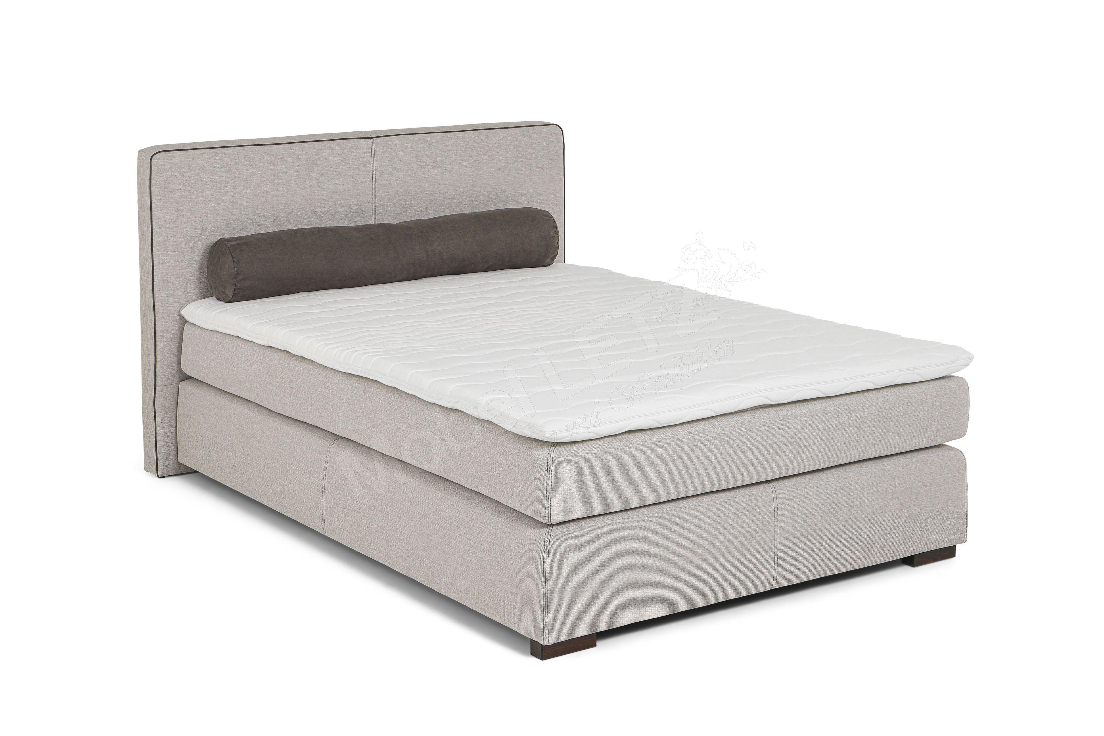 jockenh fer romantica boxspringbett beige grau m bel. Black Bedroom Furniture Sets. Home Design Ideas