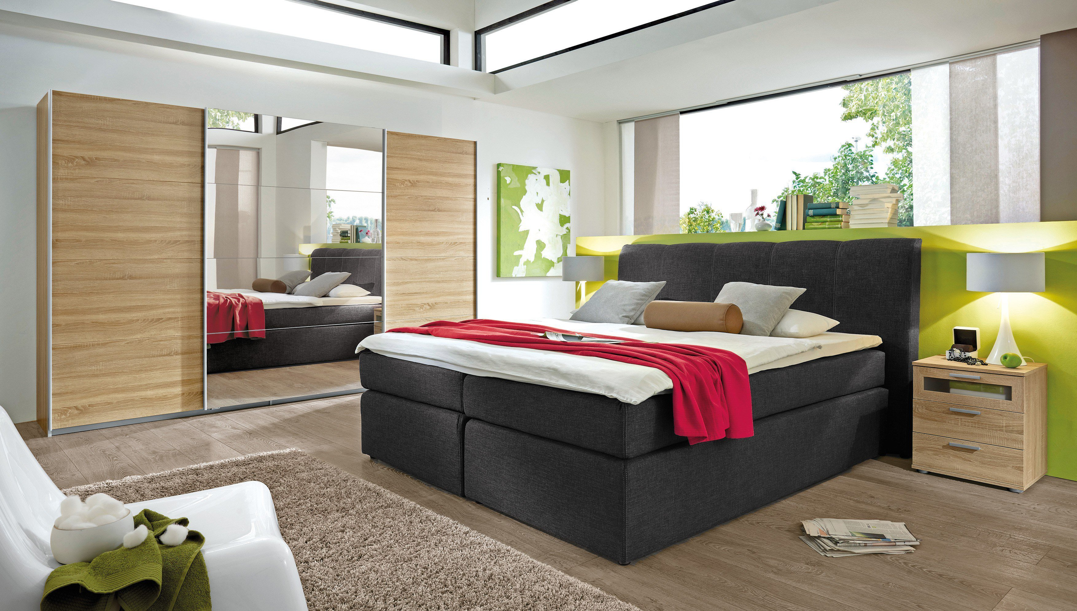 jockenh fer boxspringbett heaven anthrazit m bel letz. Black Bedroom Furniture Sets. Home Design Ideas