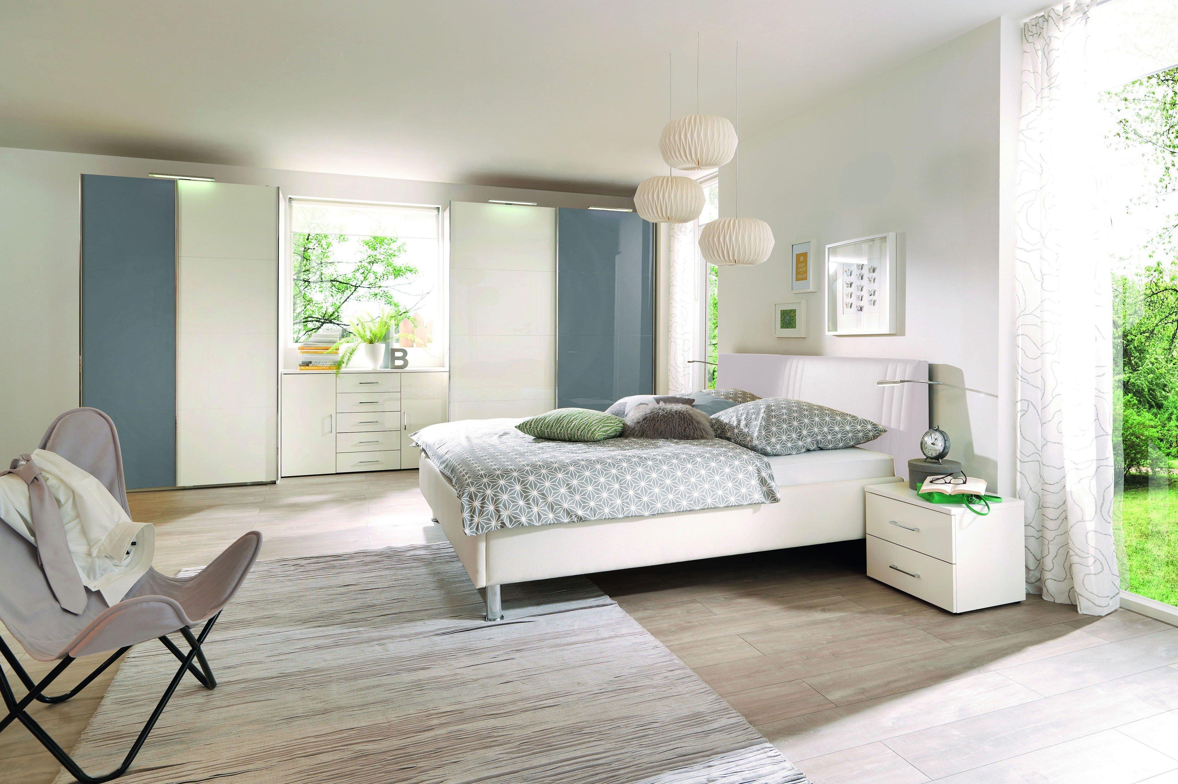 ksw level 2 von wellembel schlafzimmer hochglanz wei blau