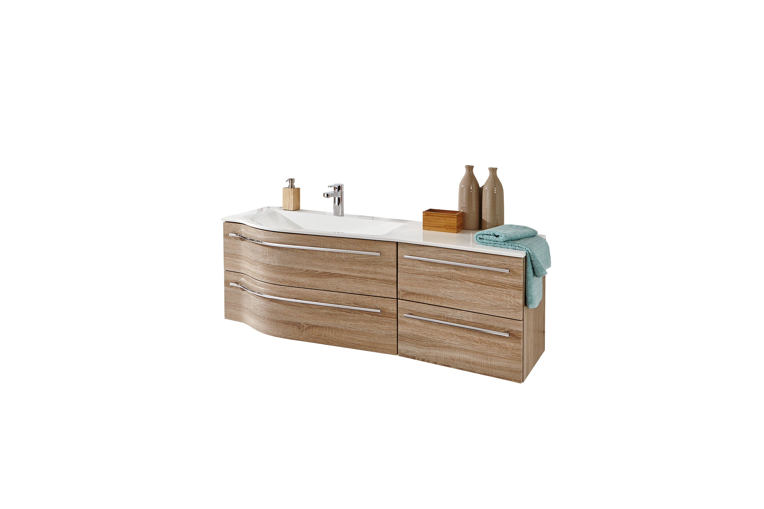 badezimmer swing eiche hell von puris m bel letz ihr online shop. Black Bedroom Furniture Sets. Home Design Ideas