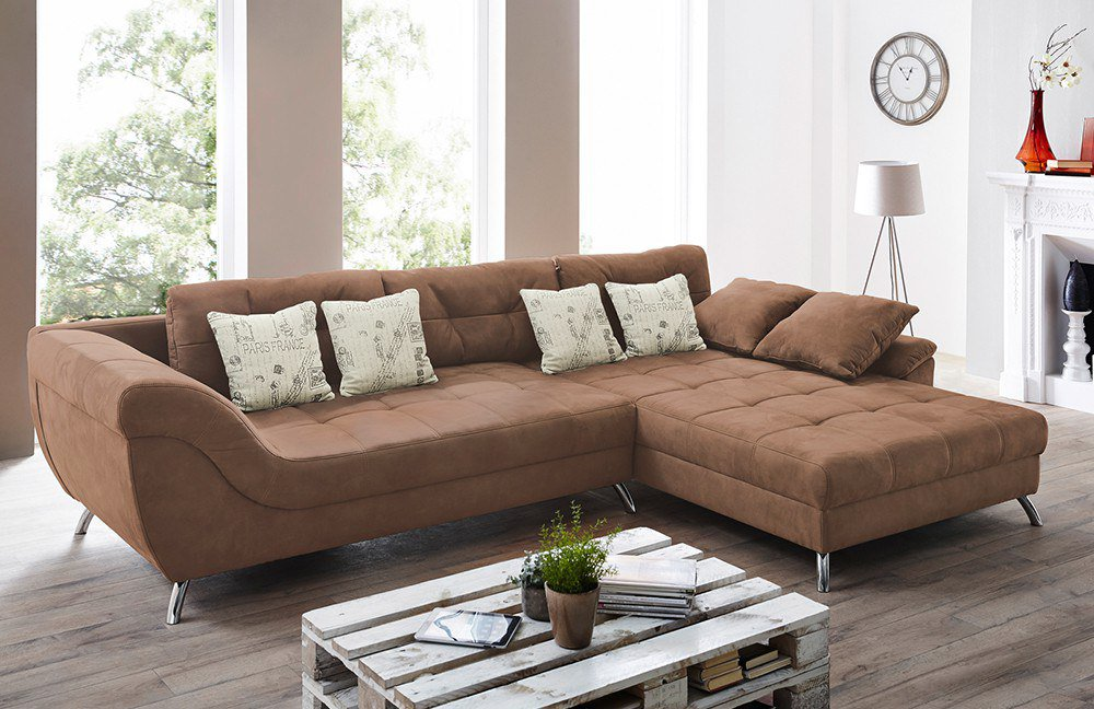jockenh fer ecksofa san francisco rotbraun m bel letz. Black Bedroom Furniture Sets. Home Design Ideas