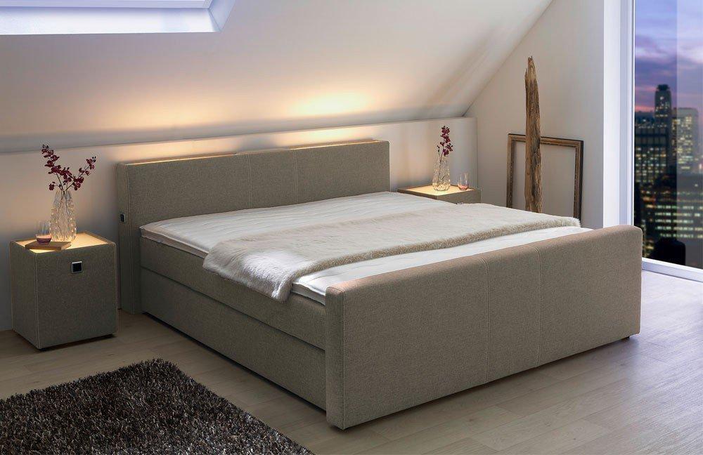 jockenh fer living helen boxspringbett braun m bel. Black Bedroom Furniture Sets. Home Design Ideas
