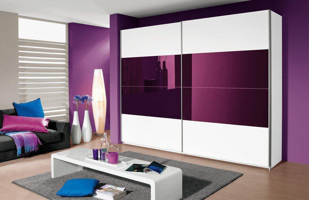rauch quadra schweber wei brombeer m bel letz ihr online shop. Black Bedroom Furniture Sets. Home Design Ideas