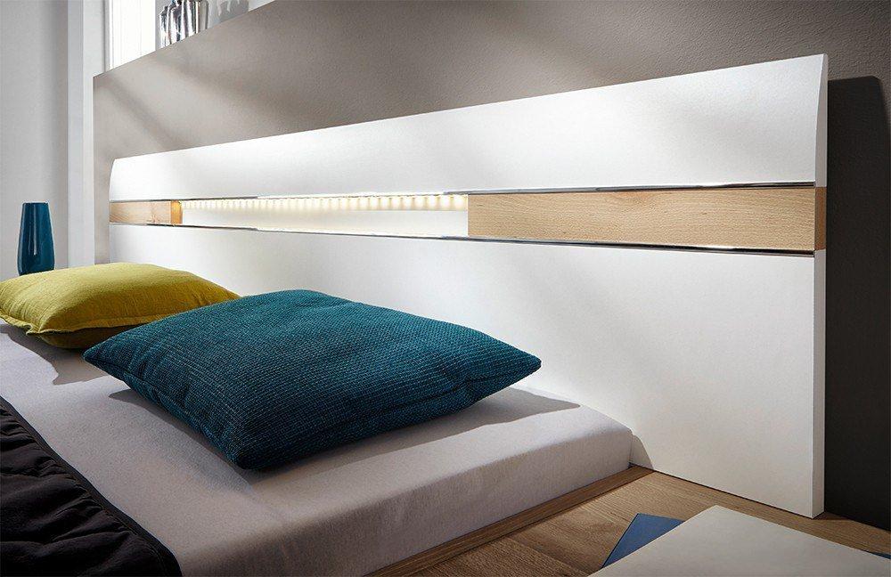 Nolte Möbel Deseo Schlafzimmer Polarweiß   Möbel Letz - Ihr Online-Shop