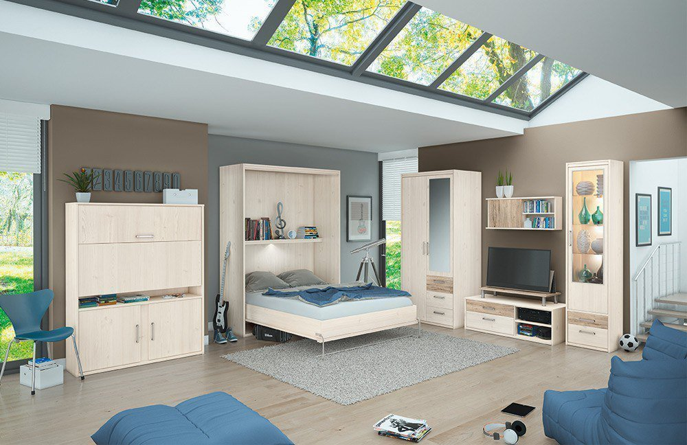priess luna jugendzimmer mit schrankbett m bel letz ihr online shop. Black Bedroom Furniture Sets. Home Design Ideas