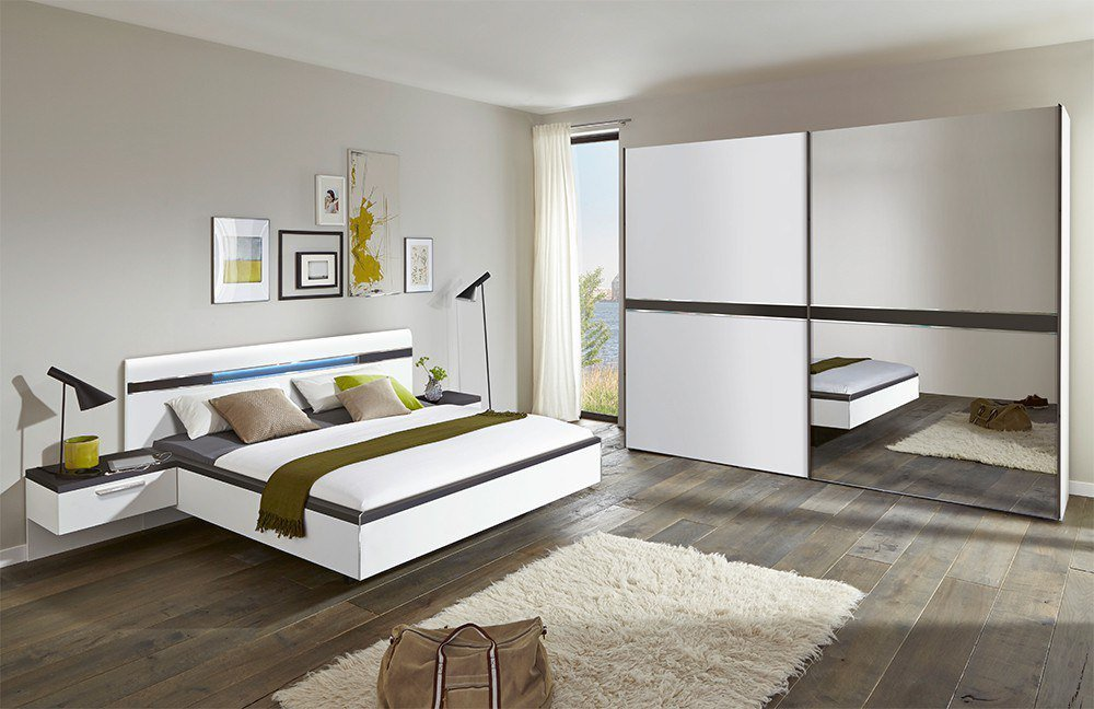 nolte m bel deseo schlafzimmer wei graphit m bel letz ihr online shop. Black Bedroom Furniture Sets. Home Design Ideas
