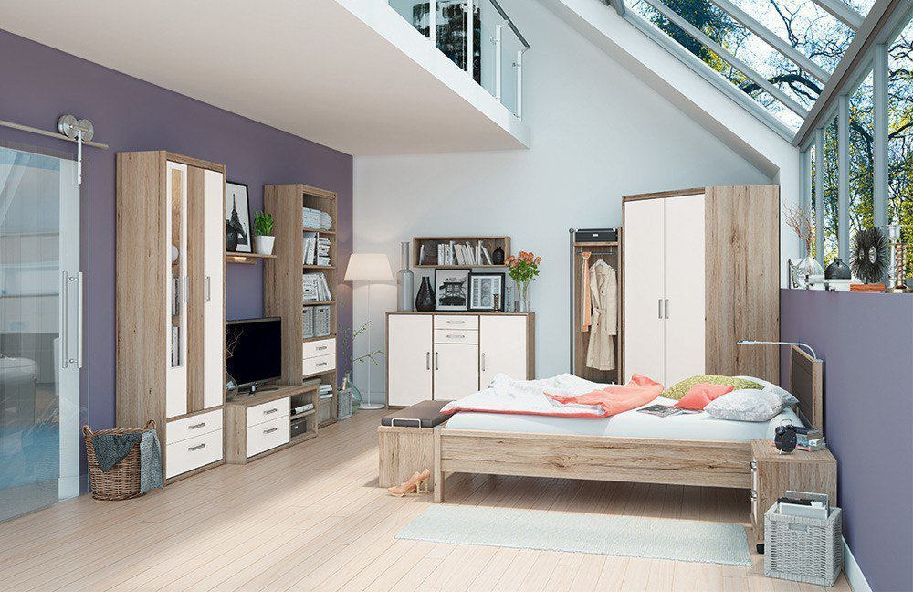 Priess Luna Single-Schlafzimmer   Möbel Letz - Ihr Online-Shop