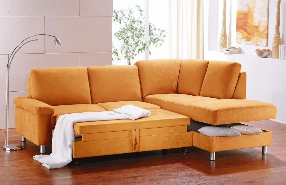 pora polsterm bel monaco eckcouch orange m bel letz. Black Bedroom Furniture Sets. Home Design Ideas