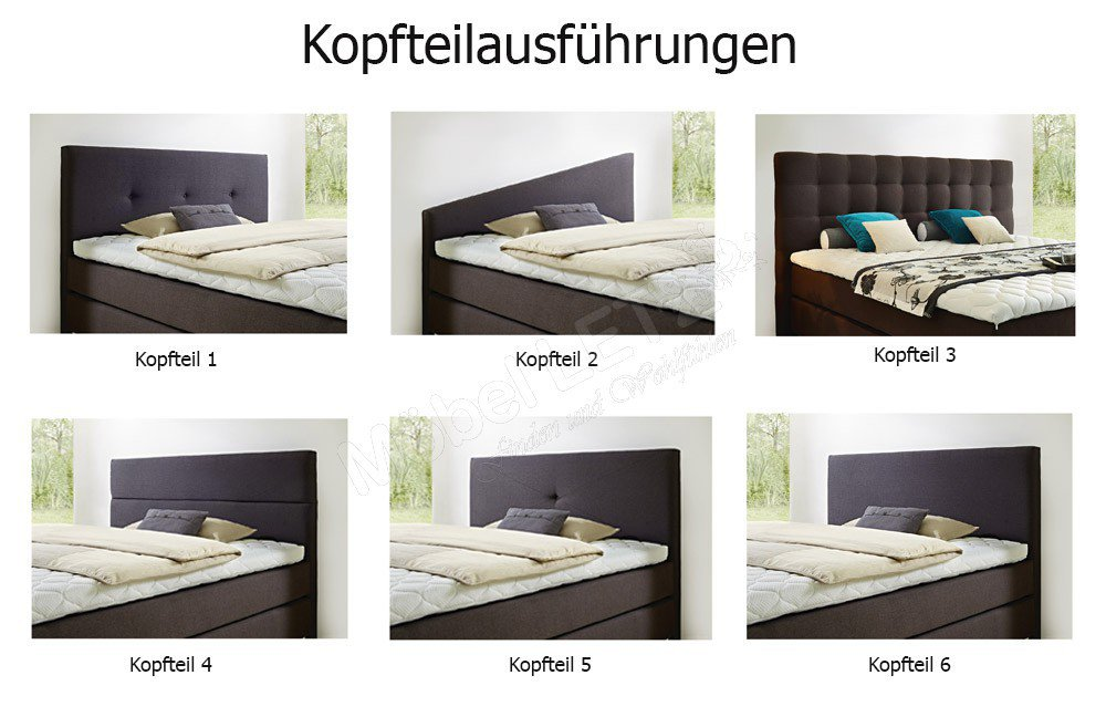 skandinavische m bel boxspringbett janno braun m bel. Black Bedroom Furniture Sets. Home Design Ideas
