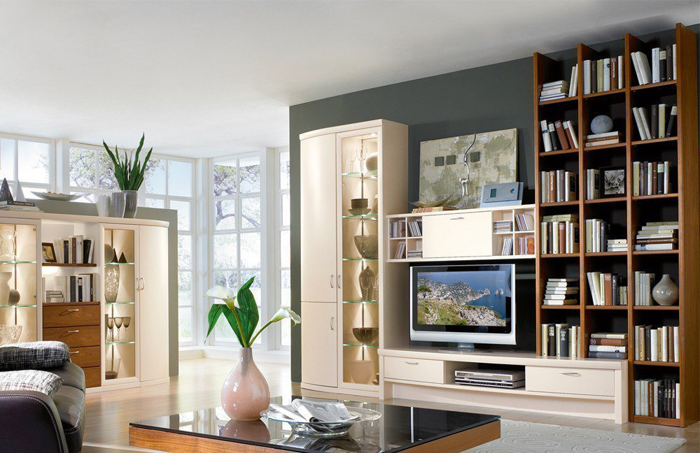 Wohnwand kirschbaum moderne wohnwande exklusiv