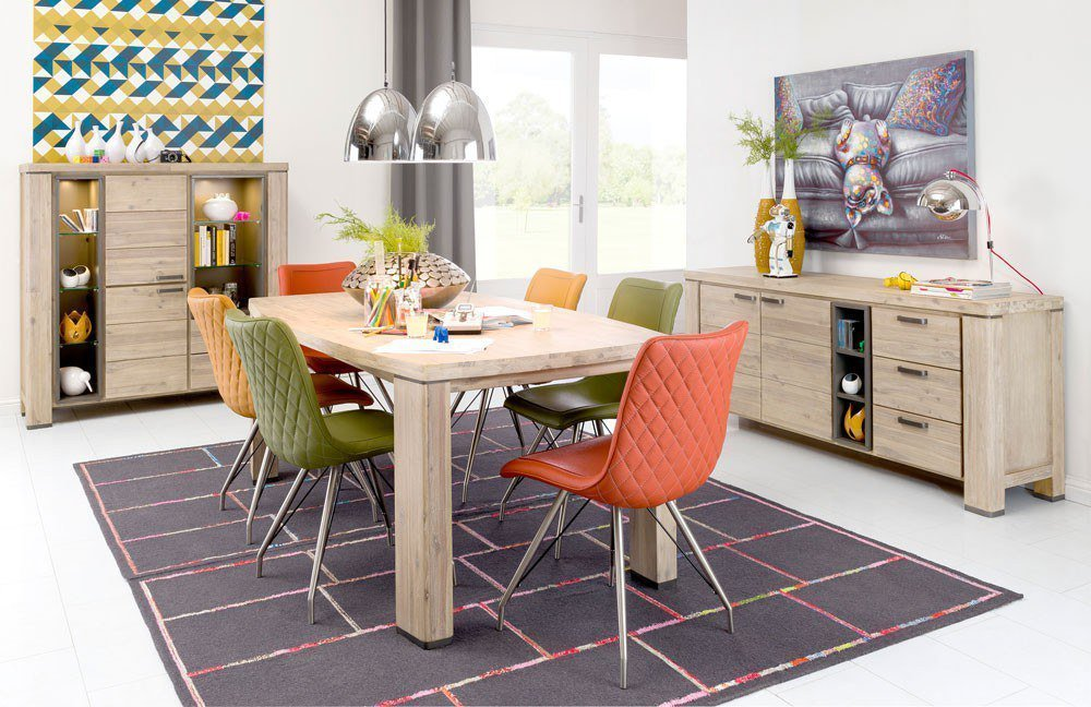 habufa esstisch coiba akazie m bel letz ihr online shop. Black Bedroom Furniture Sets. Home Design Ideas