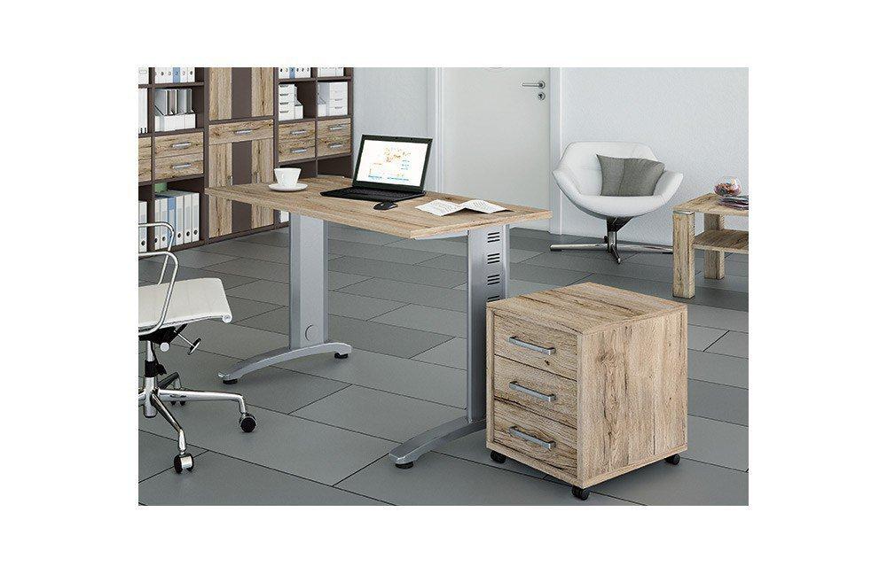 Priess Luna Schreibtisch & Rollcontainer | Möbel Letz - Ihr Online-Shop