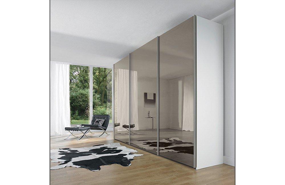 nolte m bel evena nelio schrank wei glas m bel letz ihr online shop. Black Bedroom Furniture Sets. Home Design Ideas