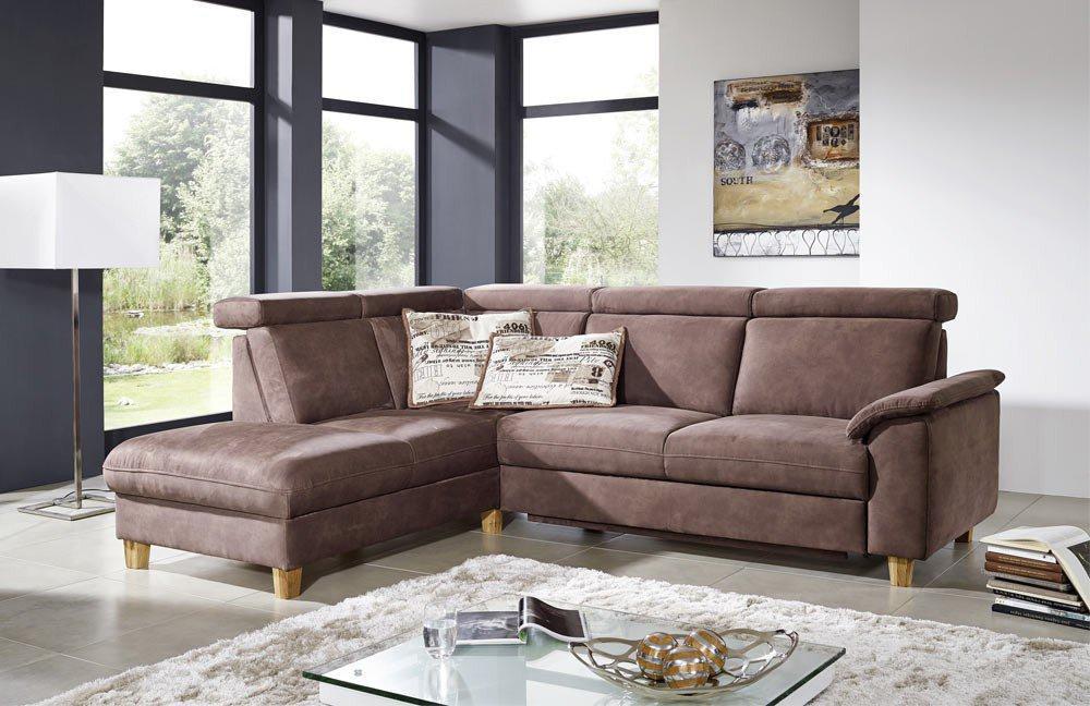 Eckcouch Braun. Cool Designer M Bel Sofa Vintage Braun Ecksofa L ...