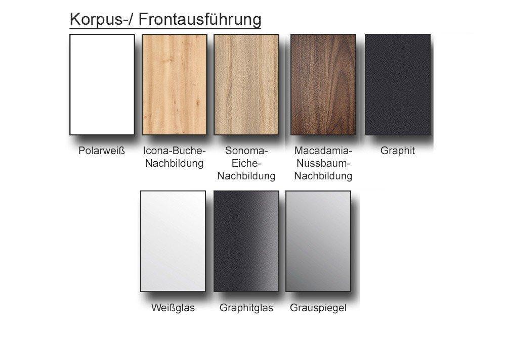 Nolte Möbel Evena/ Nelio Schrank Graphit | Möbel Letz - Ihr Online-Shop