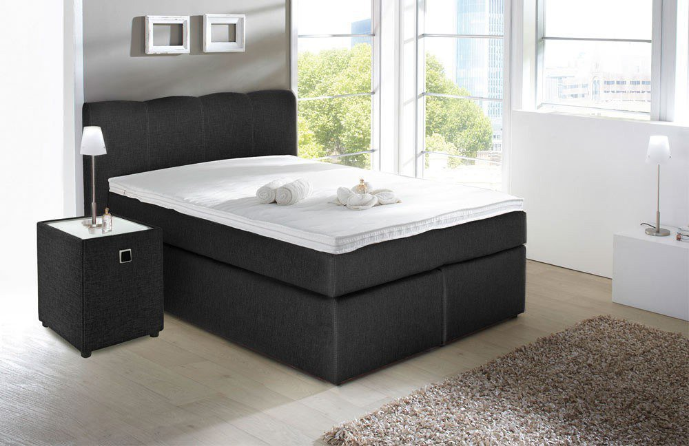 jockenh fer heaven lilly boxspringbett in anthrazit m bel letz ihr online shop. Black Bedroom Furniture Sets. Home Design Ideas