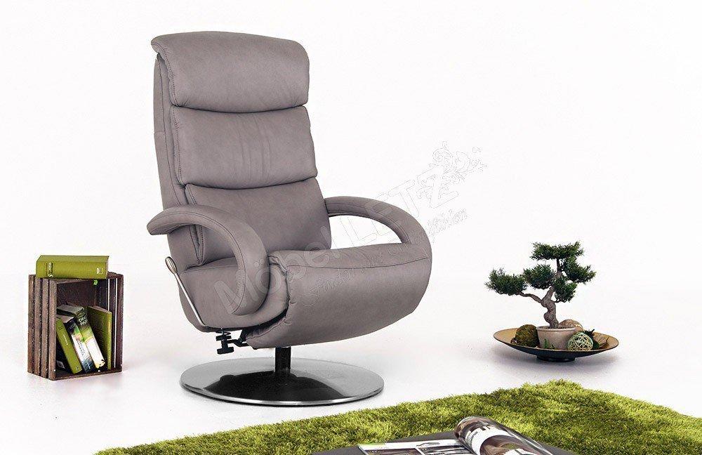 hukla cosyrelax cr 06 tv sessel in grau m bel letz ihr. Black Bedroom Furniture Sets. Home Design Ideas