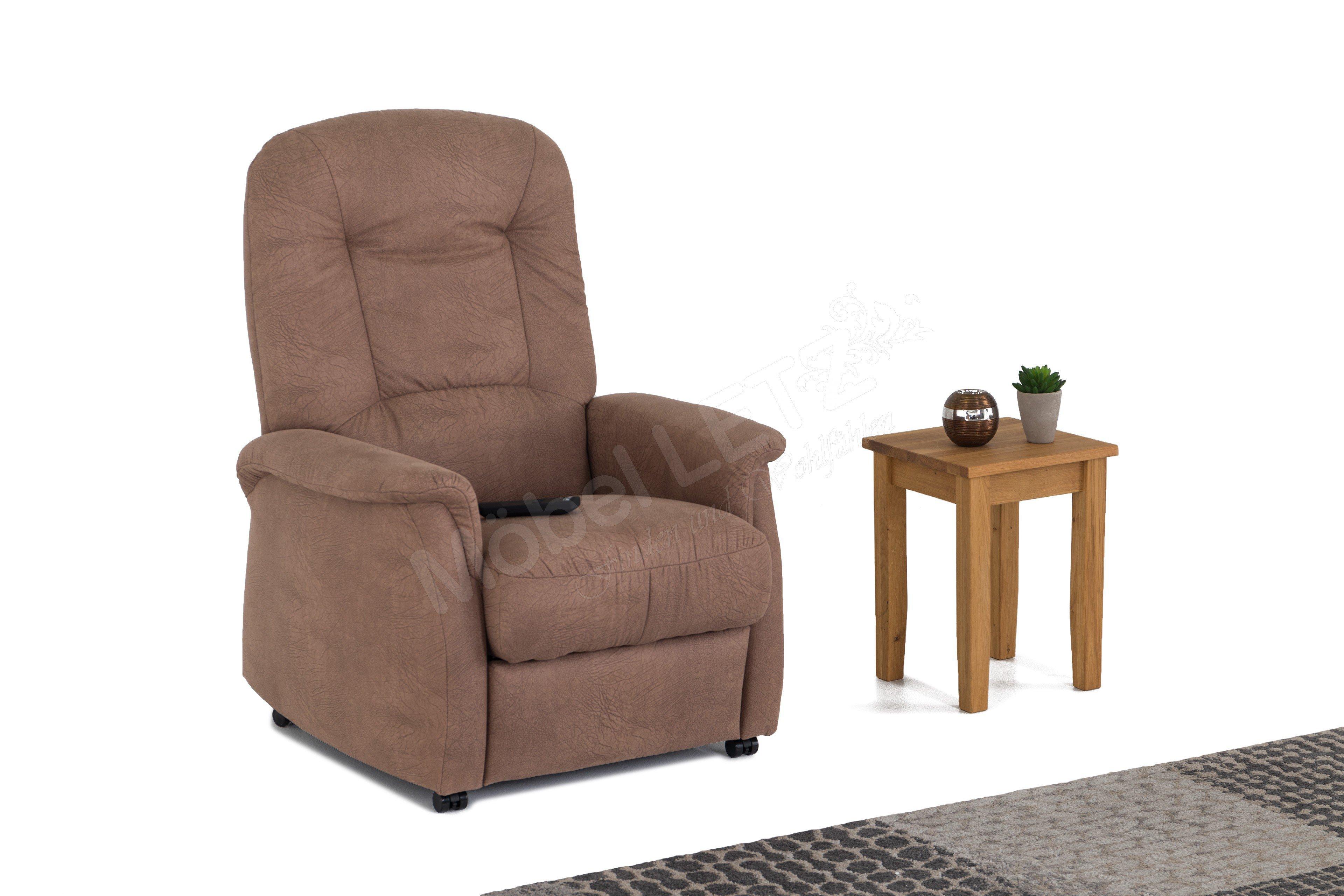 hukla rv02 funktionssessel in braun m bel letz ihr online shop. Black Bedroom Furniture Sets. Home Design Ideas