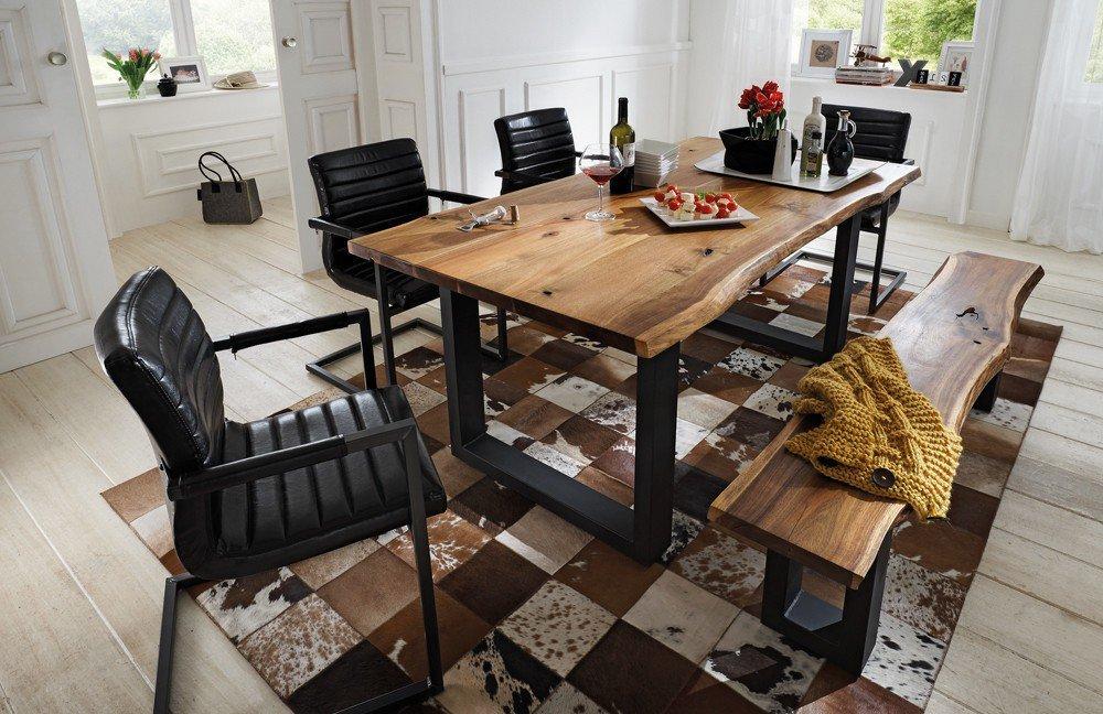 Tisch queens akazie massiv m bel letz for Esstisch queens akazie