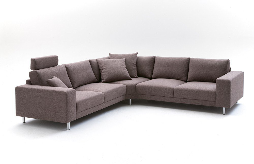 candy modesto ecksofa in braun m bel letz ihr online shop. Black Bedroom Furniture Sets. Home Design Ideas
