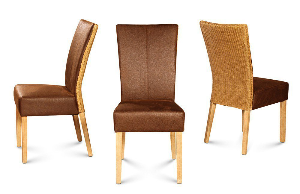 stuhl madrid braun loom m bel letz ihr online shop. Black Bedroom Furniture Sets. Home Design Ideas