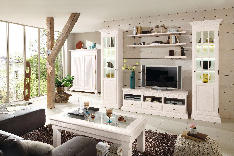 wohnwand malaga massive pinie von rojas mobiliario m bel letz ihr online shop. Black Bedroom Furniture Sets. Home Design Ideas