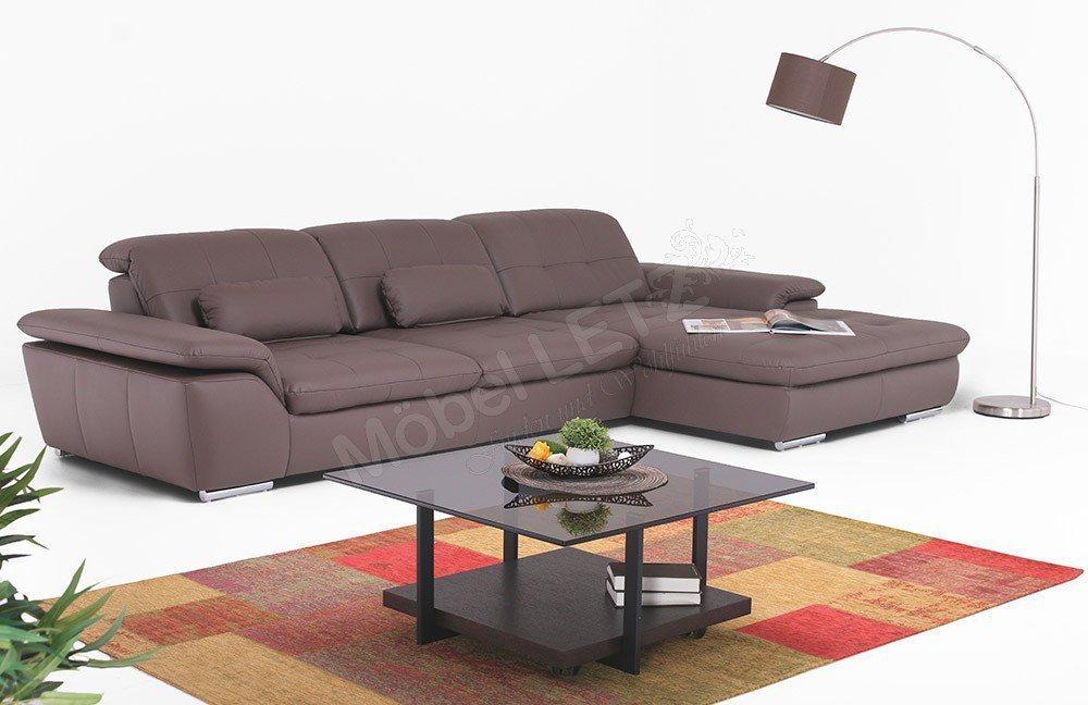Polinova Imago L Sofa mocca | Möbel Letz - Ihr Online-Shop