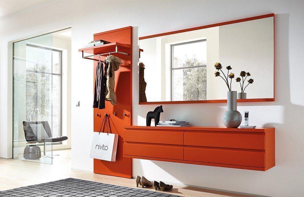 garderobe linaro enjoy in lack lachs von rmw rietberger. Black Bedroom Furniture Sets. Home Design Ideas