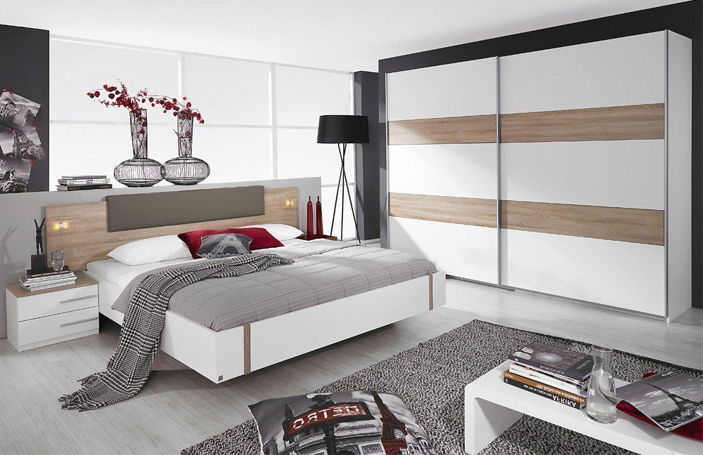 rauch calvia schlafzimmer wei eiche m bel letz ihr online shop. Black Bedroom Furniture Sets. Home Design Ideas