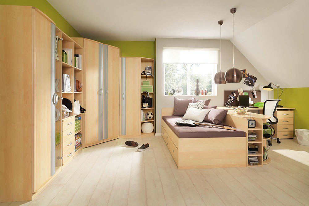 wellem bel marius jugendzimmer ahorn olive m bel letz. Black Bedroom Furniture Sets. Home Design Ideas