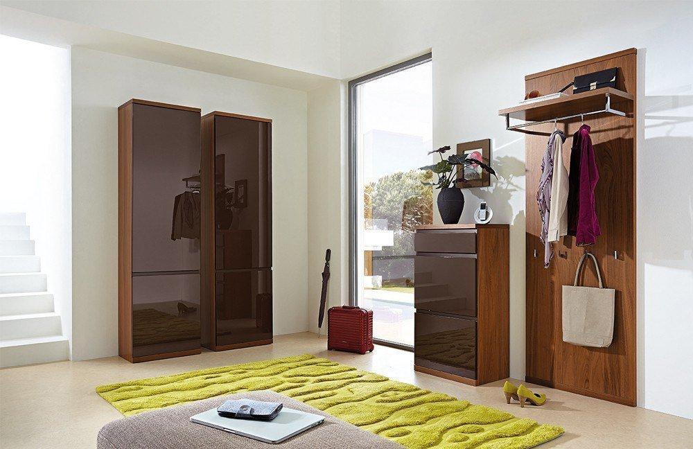 garderobe linaro nussbaum braun von rmw rietberger m bel letz ihr online shop. Black Bedroom Furniture Sets. Home Design Ideas