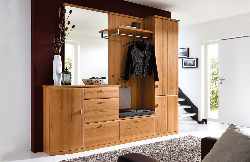 garderobe lando kernbuche von rmw rietberger m bel letz ihr online shop. Black Bedroom Furniture Sets. Home Design Ideas