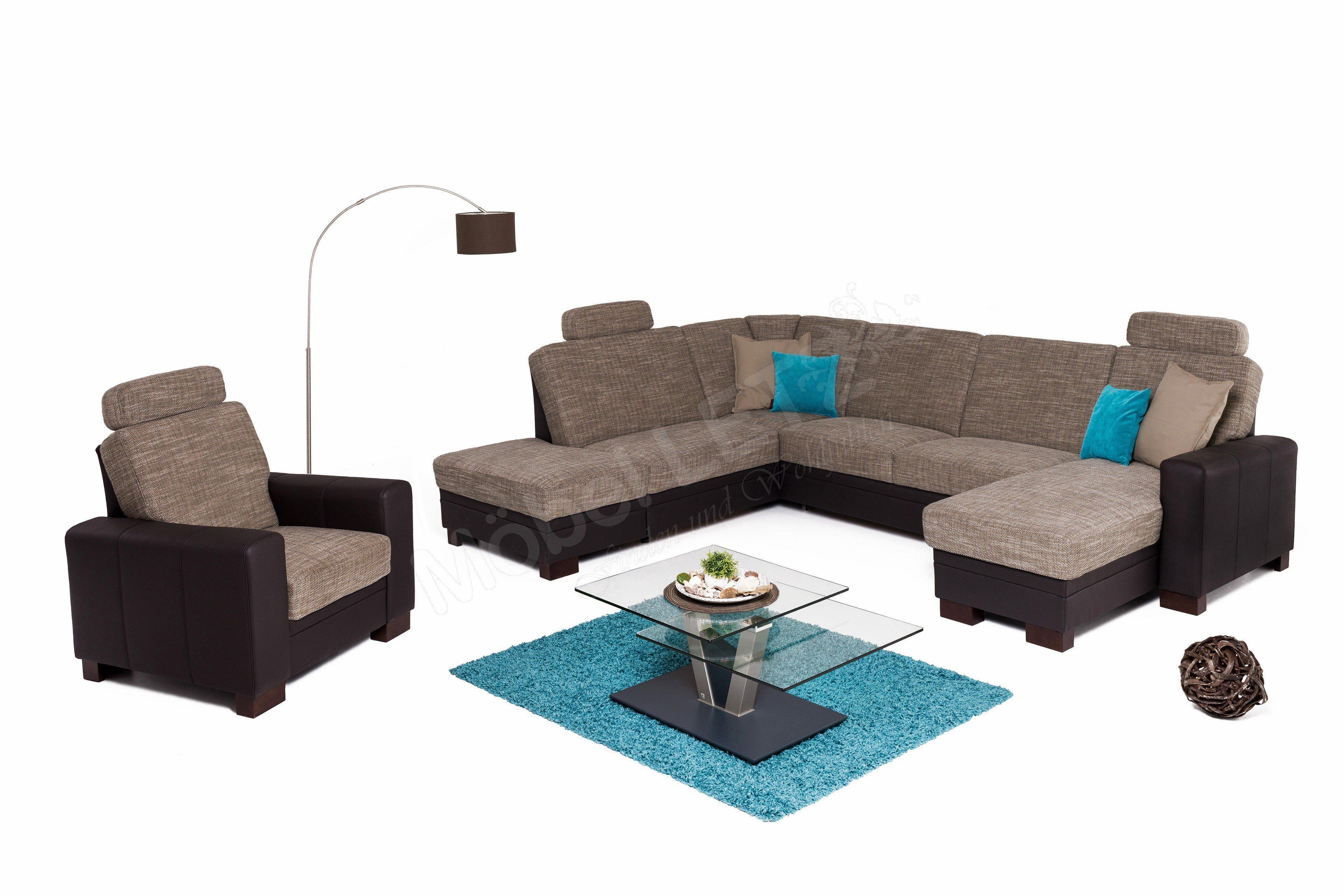 Zehdenick Cleveland Sofa espresso-schoko | Möbel Letz - Ihr Online-Shop