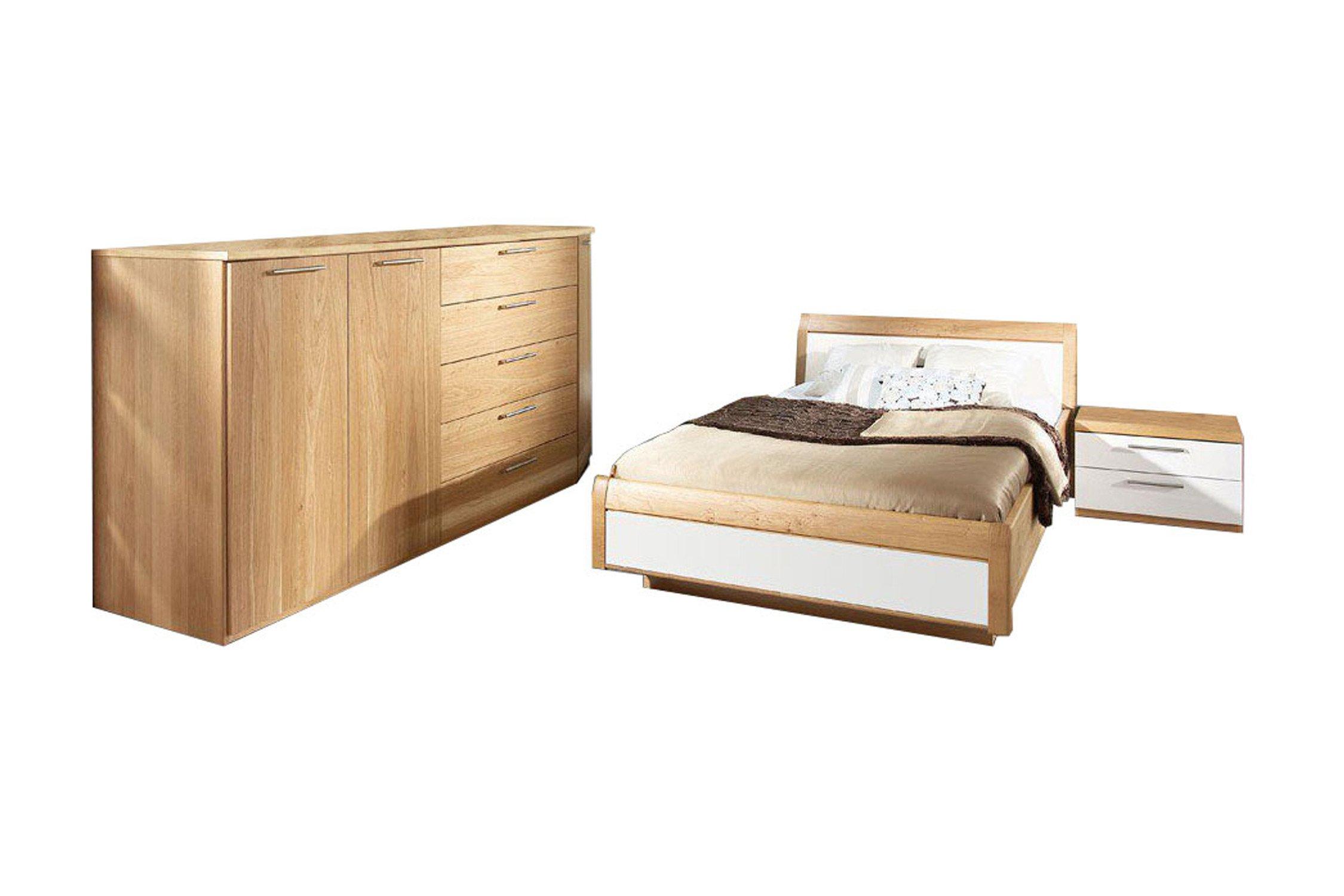 Komplett schlafzimmer mit einzelbett bettdecken 155x220 for Wer nimmt gebrauchte mobel