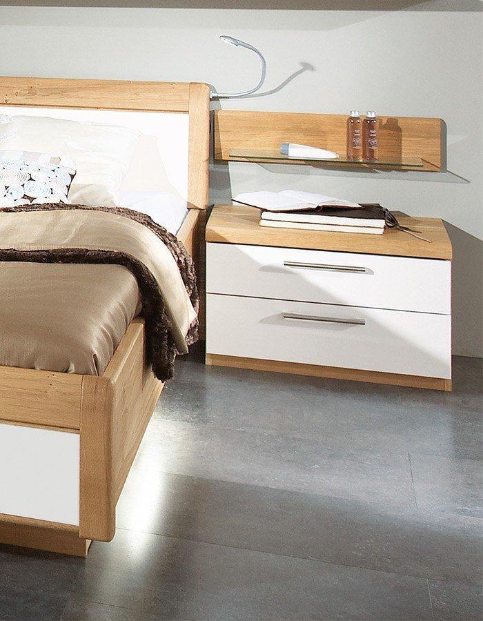 Bettensystem Comfort-V von Disselkamp - Schlafzimmer Eiche