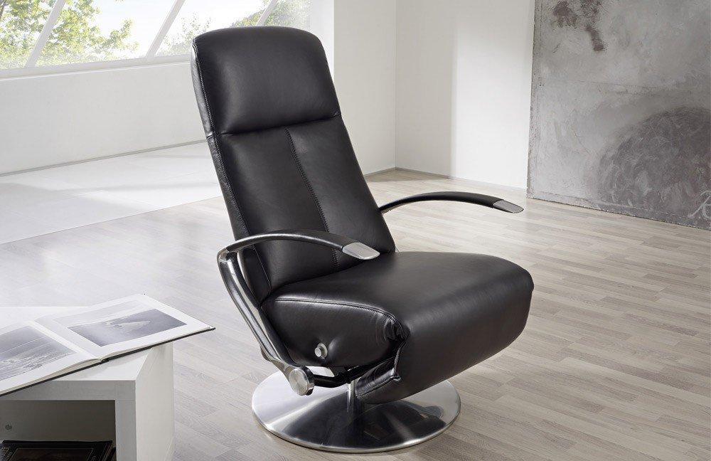 tv sessel leder schwarz innenr ume und m bel ideen. Black Bedroom Furniture Sets. Home Design Ideas
