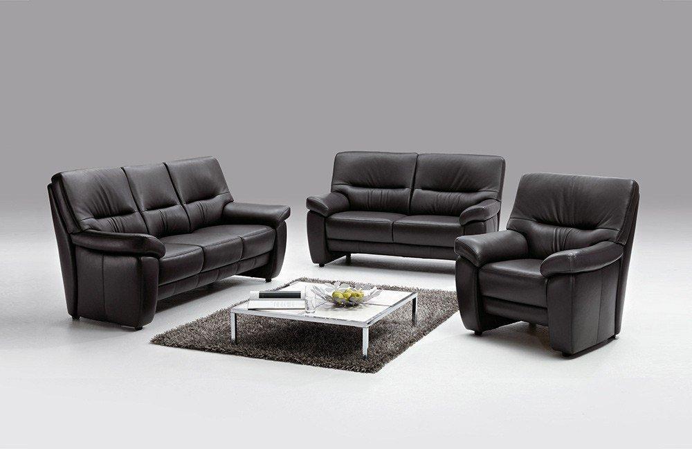 arco amberg 3900 ledergarnitur schwarz m bel letz ihr. Black Bedroom Furniture Sets. Home Design Ideas