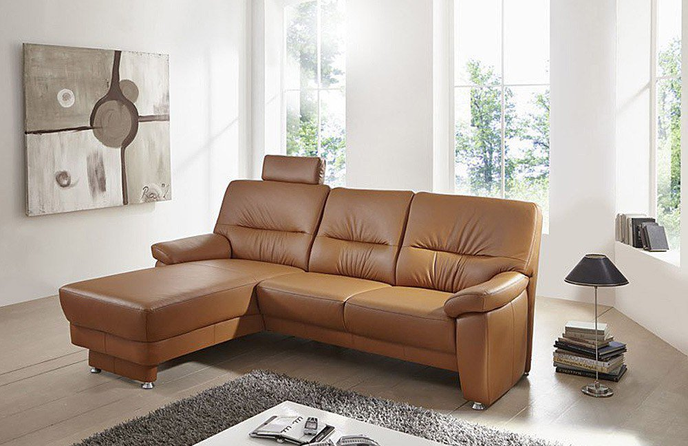 arco amberg 3900 ledersofa cognac m bel letz ihr online shop. Black Bedroom Furniture Sets. Home Design Ideas