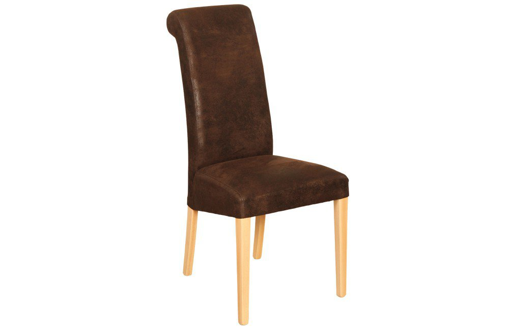 massiv.direkt Stuhl Silas B braun | Möbel Letz - Ihr Online-Shop