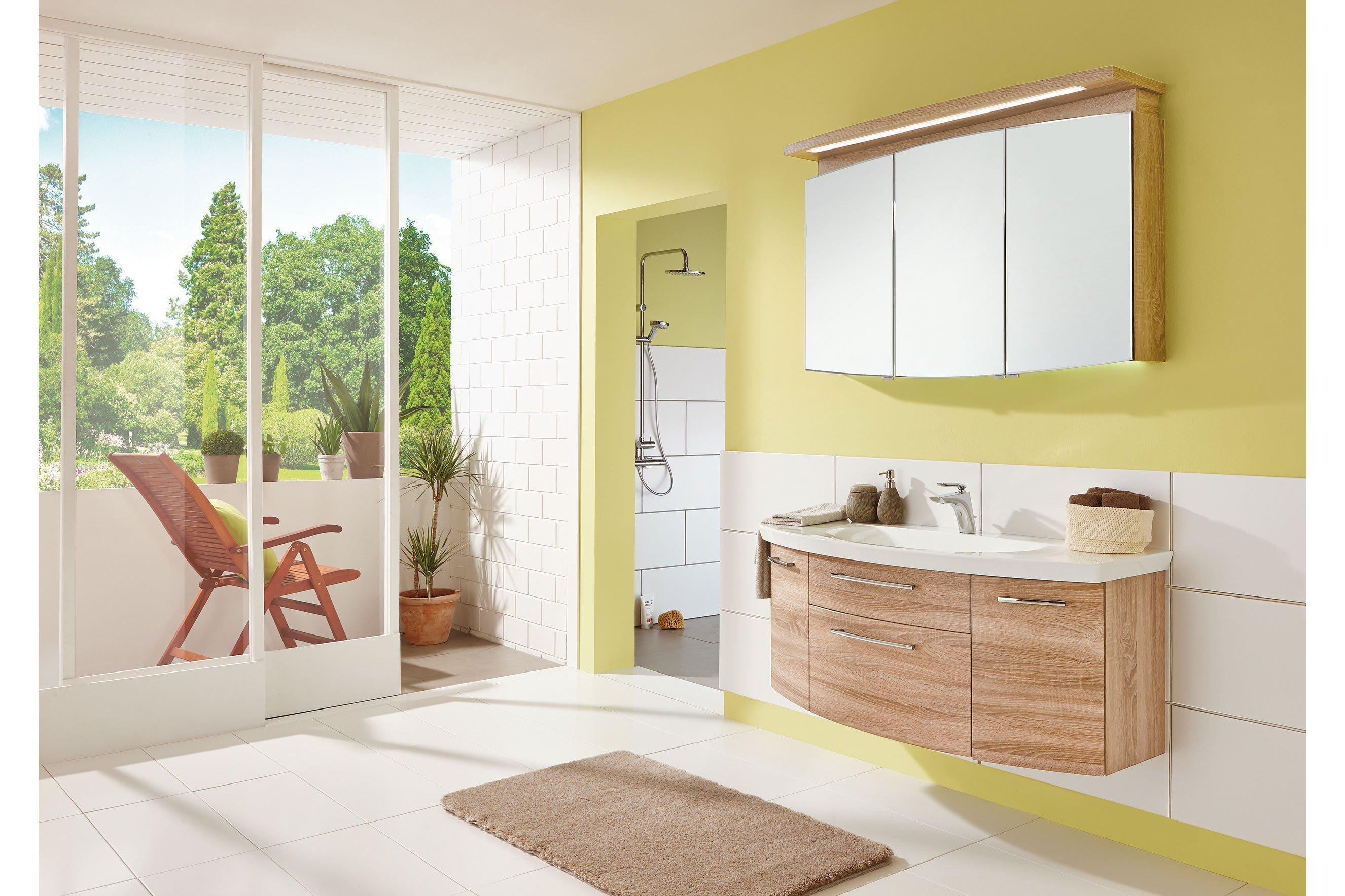 Badezimmer Classic Line in Eiche hell von puris  Möbel Letz  Ihr