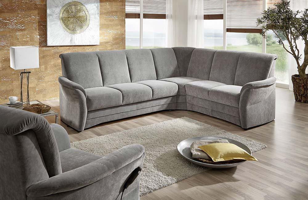 Arco Arosa Ecksofa grau | Möbel Letz - Ihr Online-Shop