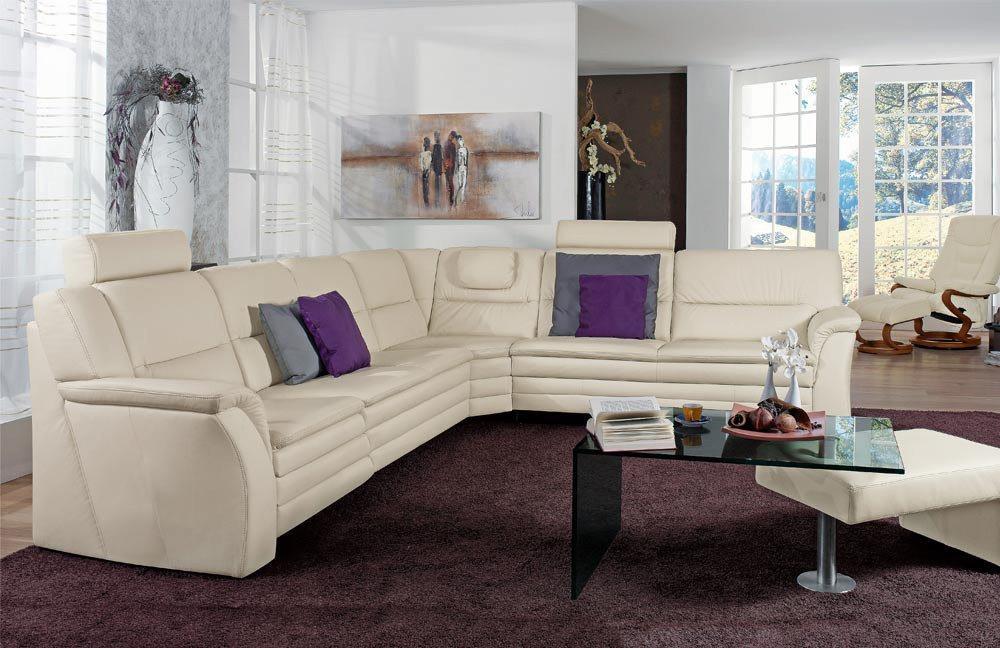 himolla polsterm bel 1102 polstergarnitur in creme m bel letz ihr online shop. Black Bedroom Furniture Sets. Home Design Ideas
