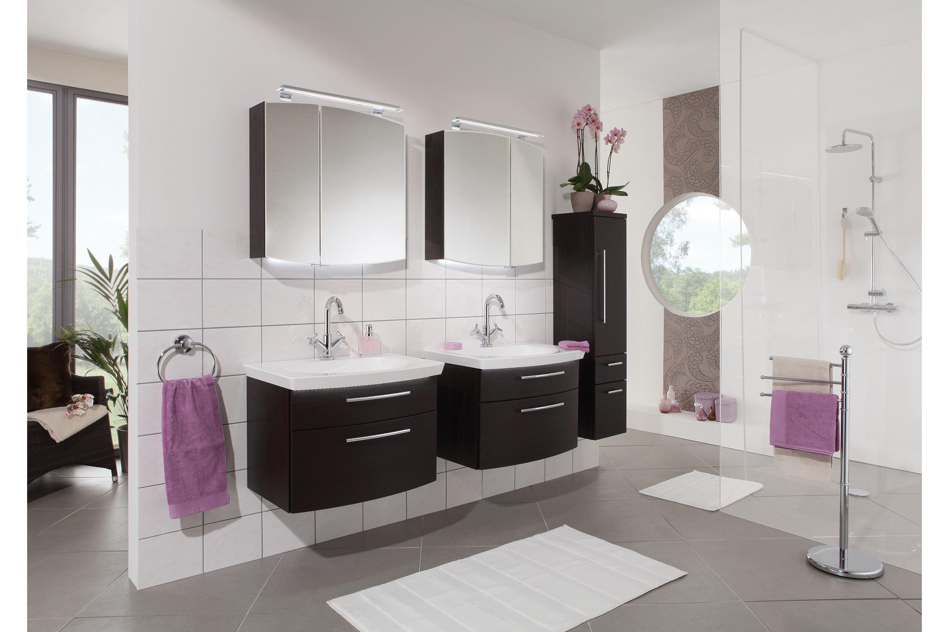 Badezimmer Classic Line Wenge von puris   Möbel Letz - Ihr Online-Shop