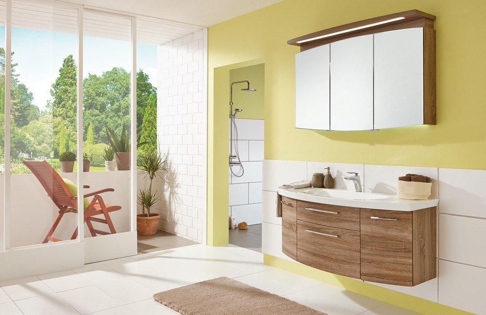 badezimmer classic line in eiche trüffel von puris | möbel letz, Badezimmer