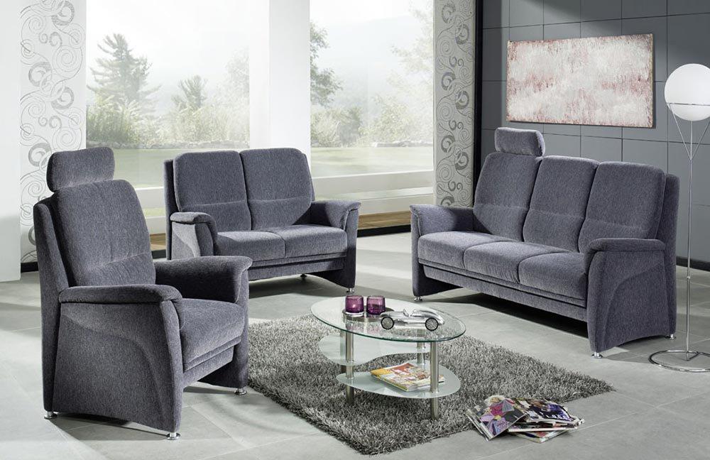 Arco Vital Ahaus 1400 Polstergarnitur Grau Möbel Letz Ihr Online