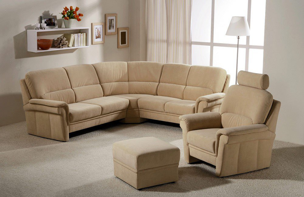 casada carat 6140 polstergarnitur natur m bel letz ihr online shop. Black Bedroom Furniture Sets. Home Design Ideas