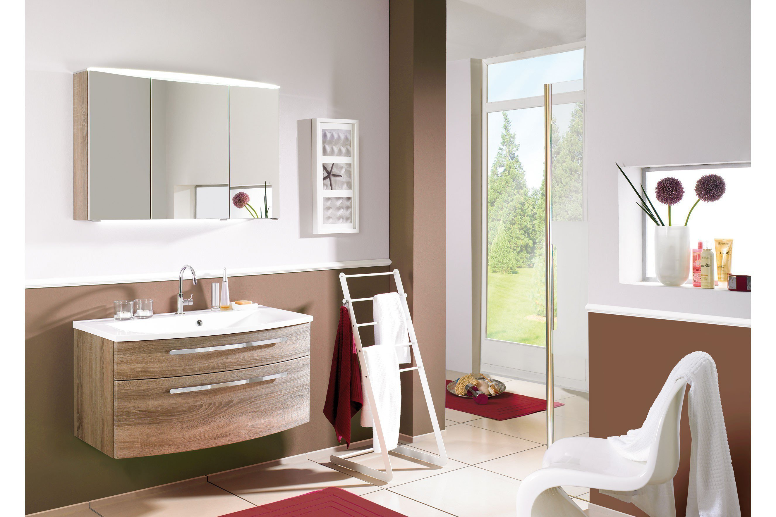 badezimmer speed in eiche tr ffel von puris m bel letz ihr online shop. Black Bedroom Furniture Sets. Home Design Ideas
