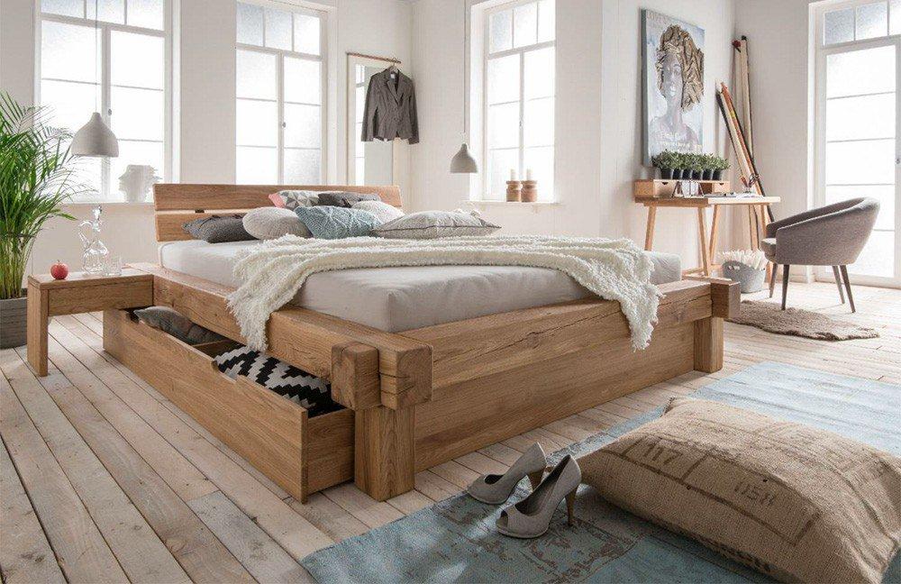 kollektion letz balkenbett wildeiche massiv m bel letz. Black Bedroom Furniture Sets. Home Design Ideas