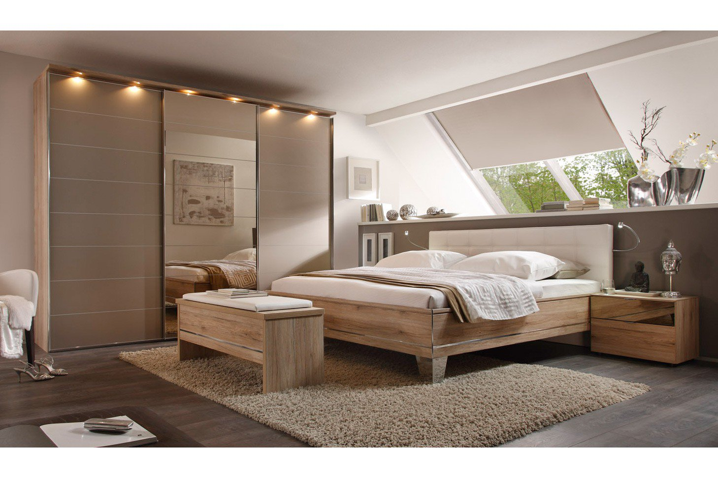 schlafzimmer set 160x200 d nisches bettenlager bettdecken bergr e schlaf gut bettw sche c a. Black Bedroom Furniture Sets. Home Design Ideas