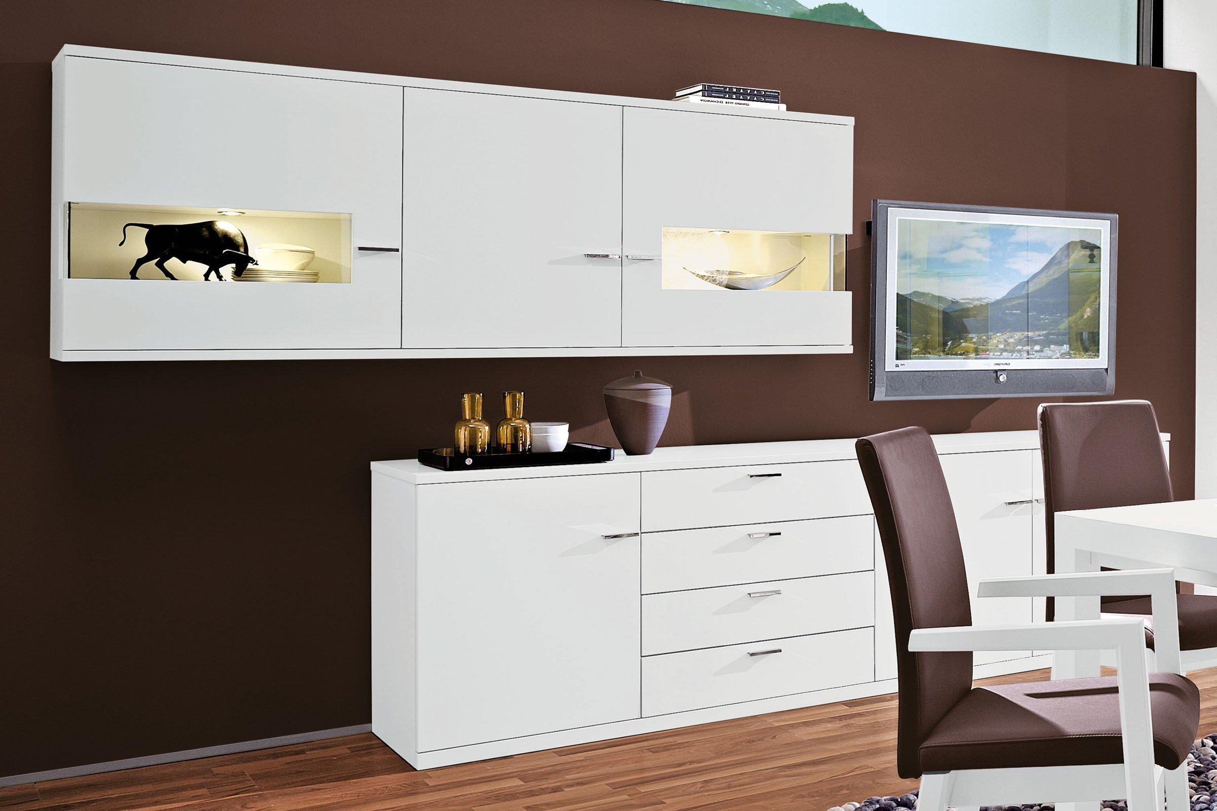 Lodano Von Rietberger   Esszimmer Lack Weiß